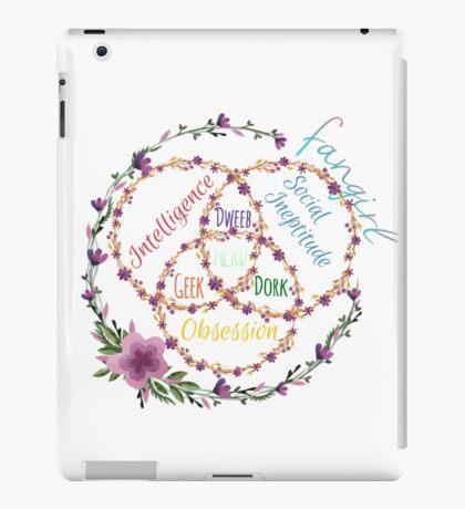 fangirl x dork x nerd iPad Case/Skin
