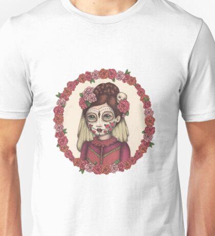Lace & Rose - Sugarskull sister Unisex T-Shirt