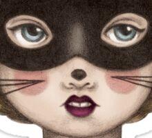 Ceremony - Masked Bunny lass Sticker