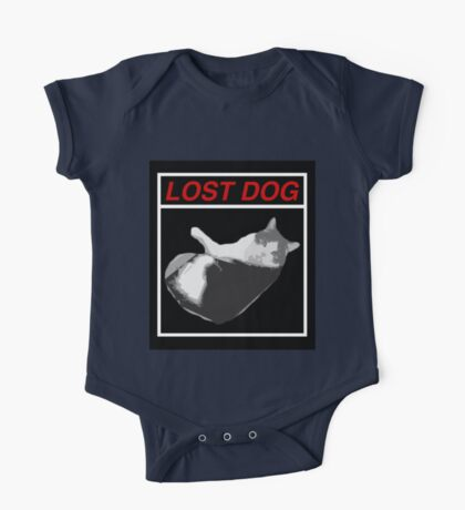 Lost Dog One Piece - Short Sleeve