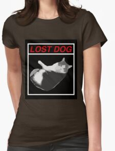 Lost Dog Womens T-Shirt