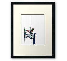 Gotham Climb Framed Print