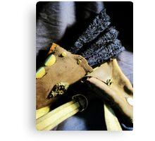 Steampunk Ladies Holster 1.1 Canvas Print