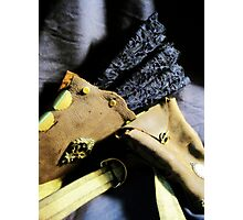 Steampunk Ladies Holster 1.1 Photographic Print