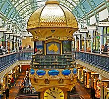 The Great Australian Clock at QVB by TonyCrehan