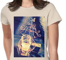 Steampunk Cage and Glass 1.0 Womens Fitted T-Shirt