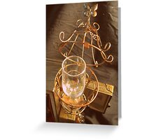 Steampunk Cage and Glass 1.2 Greeting Card