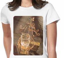 Steampunk Cage and Glass 1.2 Womens Fitted T-Shirt