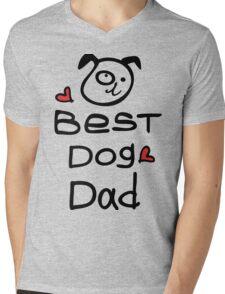 Best dog dad Mens V-Neck T-Shirt