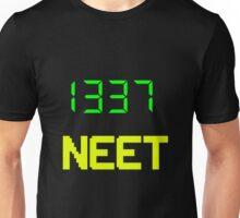 1337 NEET / LEET NEET - Anime - Otaku - Geek - Retro Gaming - Digital Design Unisex T-Shirt