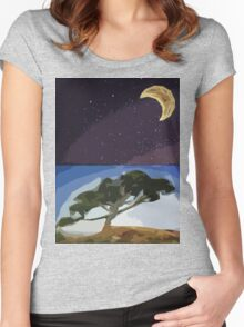 All Natural Women's Fitted Scoop T-Shirt