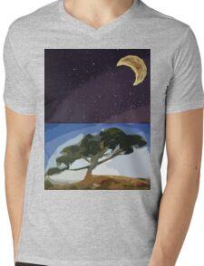 All Natural Mens V-Neck T-Shirt