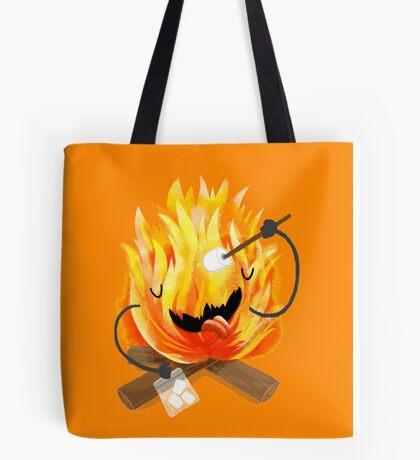 happy campfire Tote Bag
