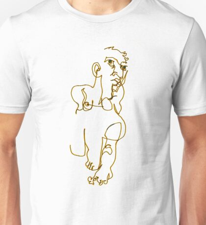 Lounging Woman Unisex T-Shirt