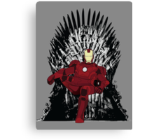 The Iron King Canvas Print