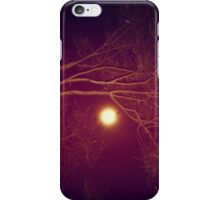 touch the side of my face iPhone Case/Skin