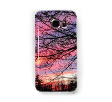 Maine Sunset Samsung Galaxy Case/Skin