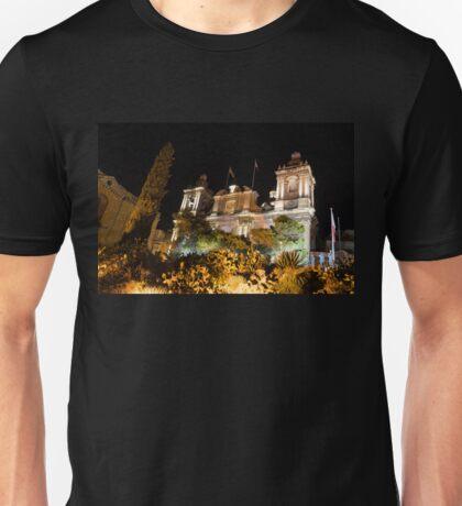 Subtropical Church Garden - St Lawrence in Birgu Malta Unisex T-Shirt