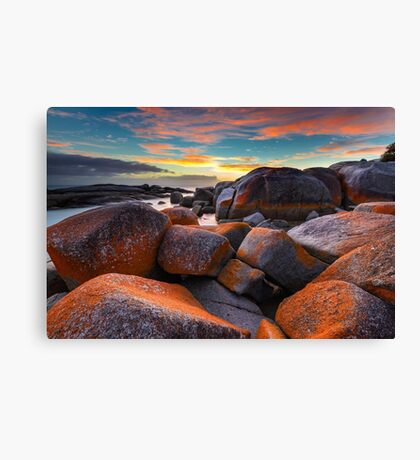 Before the Sunrise. Bay of Fires. Canvas Print