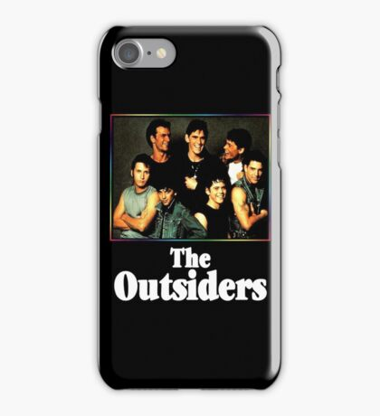 The Outsiders Top Movie iPhone Case/Skin