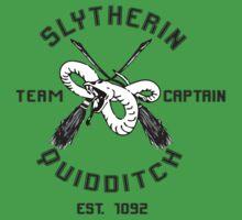 Slytherin Team Captain by Aja Lyonfields