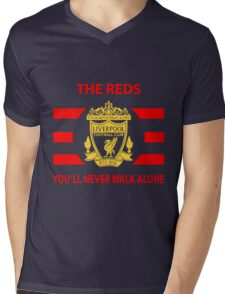 LIVERPOOL - The Reds Mens V-Neck T-Shirt