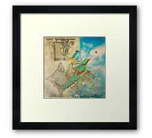 The Birds and The Bees Framed Print