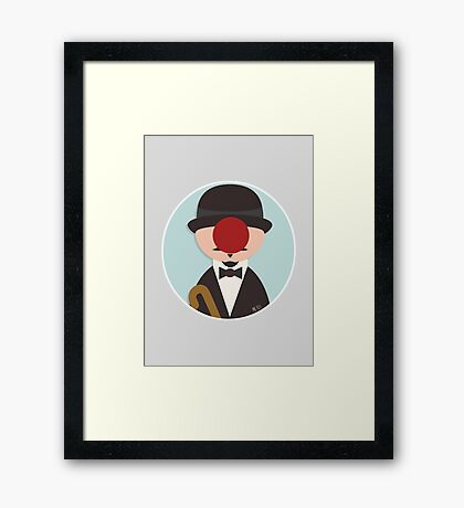 The Son of Manager Framed Print