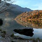 Winter on the Lake Moro by annalisa bianchetti