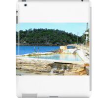 Ocean pool at Manly, Sydney. iPad Case/Skin