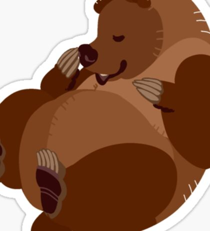 Kodiak Bear Sticker