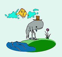 Oswald the Wandering Whale by chiclygeek