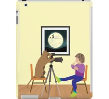 Girl behind the lens iPad Case/Skin