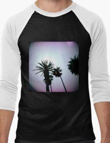 Holga Palms Men's Baseball ¾ T-Shirt