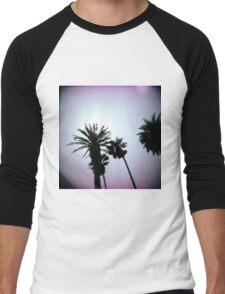 Holga Palms Men's Baseball ¾ T-Shirt