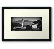 Angel at Angel Island Framed Print