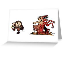 Blow Up the Thing Greeting Card