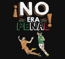 No Era Penal (It wasn't a penalty) by Jeffrey Garcia