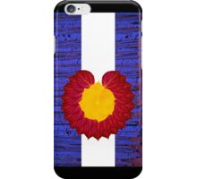 aspen tree Colorado flag iPhone Case/Skin