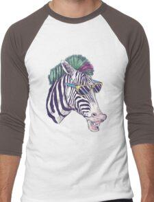 Cool Zebra Men's Baseball ¾ T-Shirt
