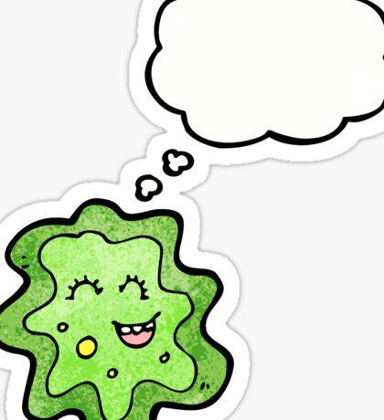 cartoon virus Sticker