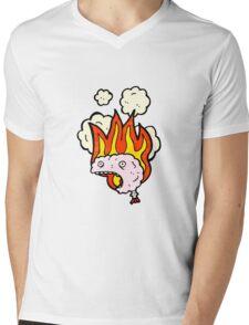 migraine cartoon Mens V-Neck T-Shirt
