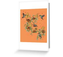 Phono & Fauna Greeting Card