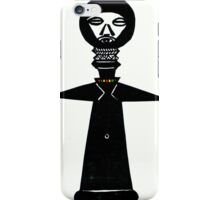 African Fertility Doll iPhone Case/Skin