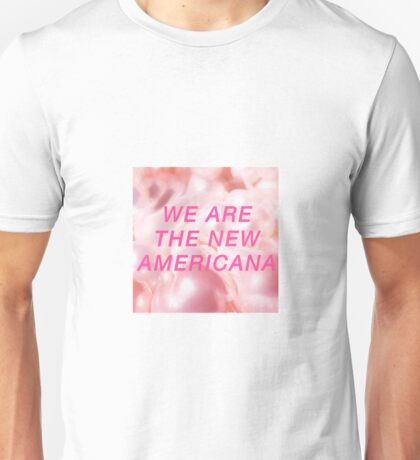 WE ARE THE NEW AMERICANA // HALSEY Unisex T-Shirt