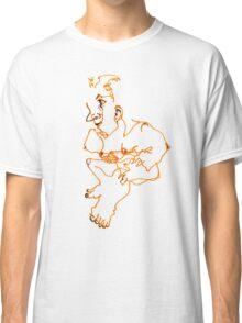 Sitting Woman Classic T-Shirt