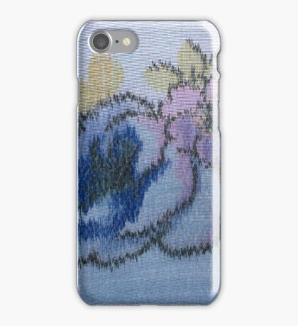 Painted fabrics iPhone Case/Skin