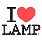 I love Lamp by Rupert Pupkin
