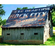 See Rock City Photographic Print