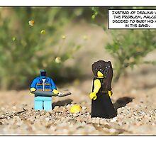 Head in sand. by Bean Strangeways